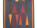 Travail de mosaïques et de formes géométriques