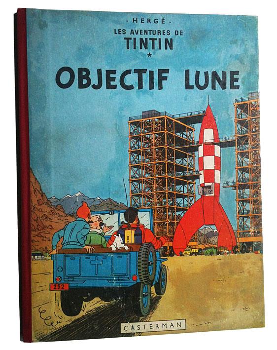 Tintin après restauration