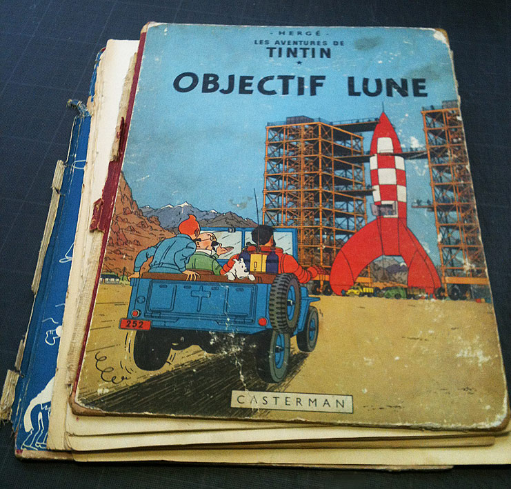 Tintin avant restauration