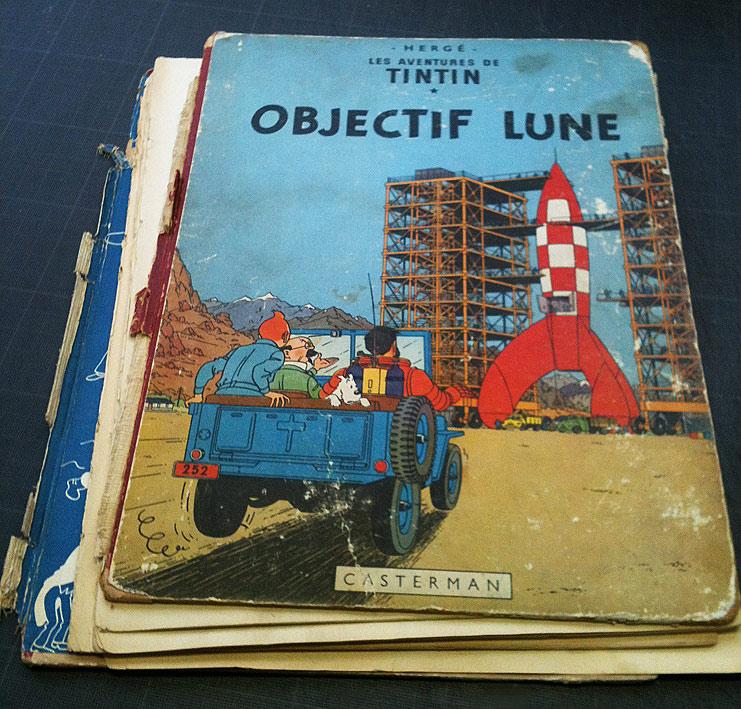 Tintin avant restauration